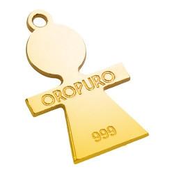 Collezione Preziosa Bimba in oro puro 999‰