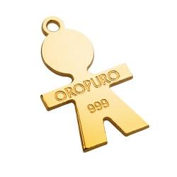 Collezione Preziosa Bimbo in oro puro 999‰
