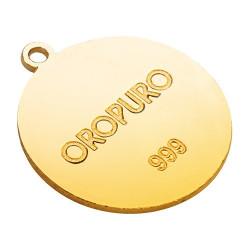Collezione Preziosa Cerchio della Vita in oro puro 999‰