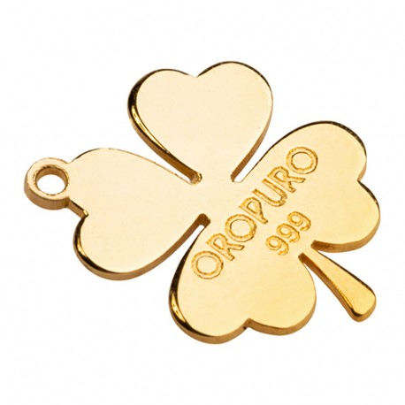 Angelo in oro puro 999‰